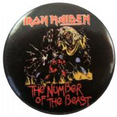Iron Maiden - 'Number of the Beast' Button Badge